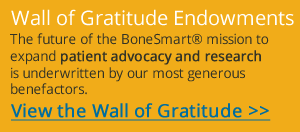 Wall of Gratitude Endowments