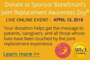 Support Joint Replacement Awareness Day